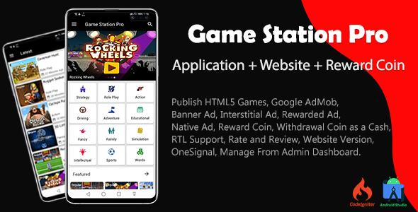 Game Station Pro (aplicativo e site)